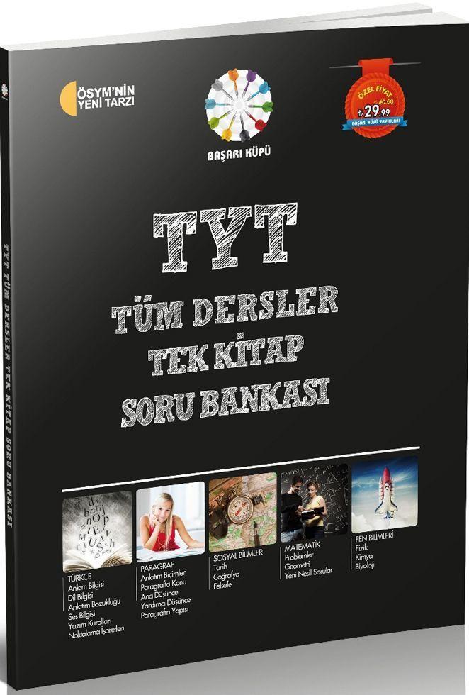Başarı Küpü TYT Tüm Dersler Tek Kitap Soru Bankası