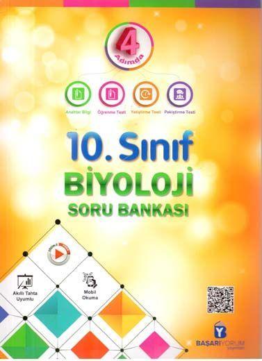 Başarıyorum Yayınları 10. Sınıf 4 Adımda Biyoloji Soru Bankası