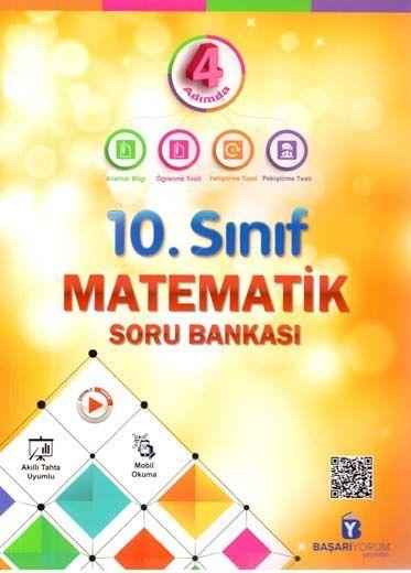 Başarıyorum Yayınları 10. Sınıf 4 Adımda Matematik Soru Bankası