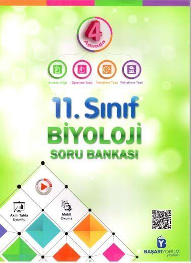 Başarıyorum Yayınları 11. Sınıf 4 Adımda Biyoloji Soru Bankası