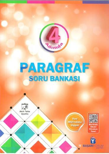 Başarıyorum Yayınları TYT AYT 4 Adımda Paragraf Soru Bankası