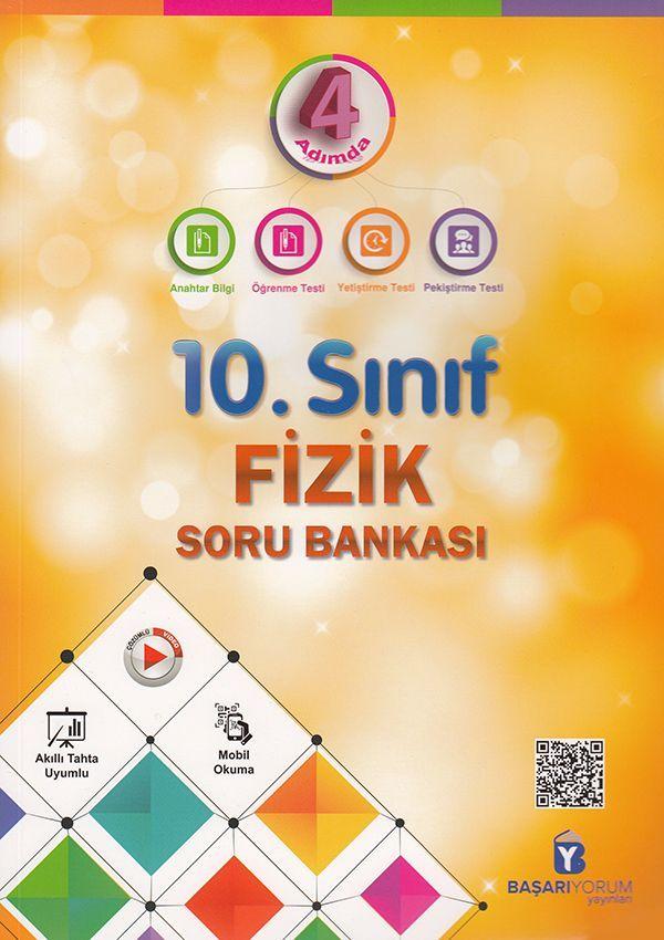 Başarıyorum Yayınları 10. Sınıf 4 Adımda Fizik Soru Bankası