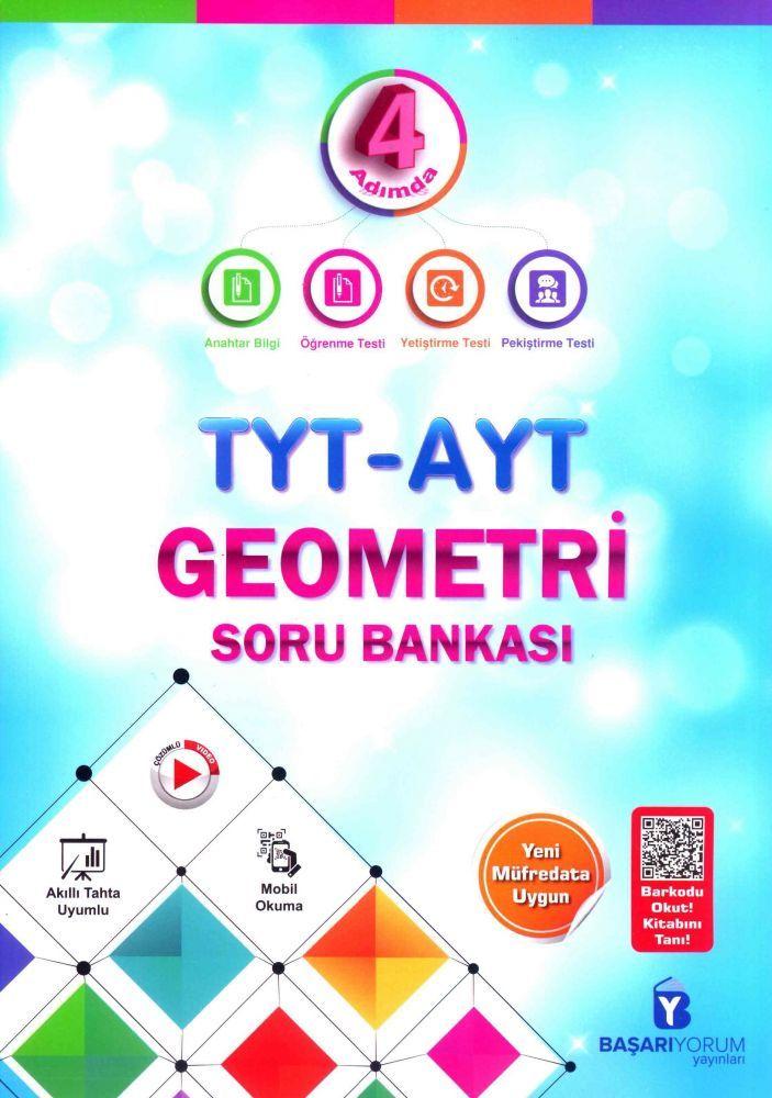 Başarıyorum Yayınları TYT AYT Geometri 4 Adımda Soru Bankası