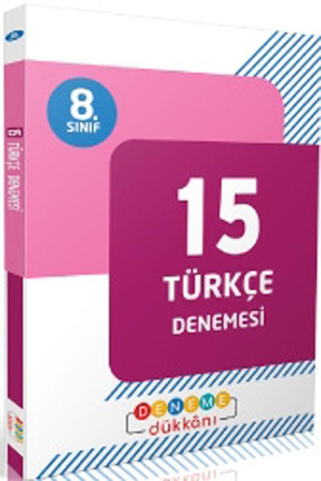 Başat Yayınları 8. Sınıf Türkçe Deneme Dükkanı 15 Denemesi