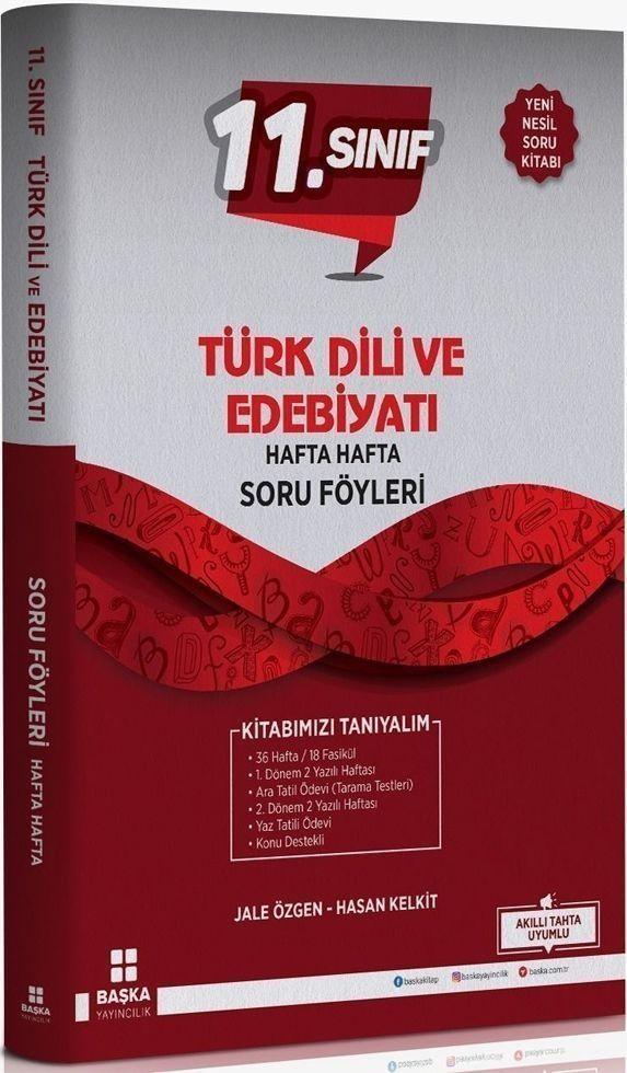 Başka Yayıncılık 11. Sınıf Türk Dili ve Edebiyatı Hafta Hafta Soru Föyleri
