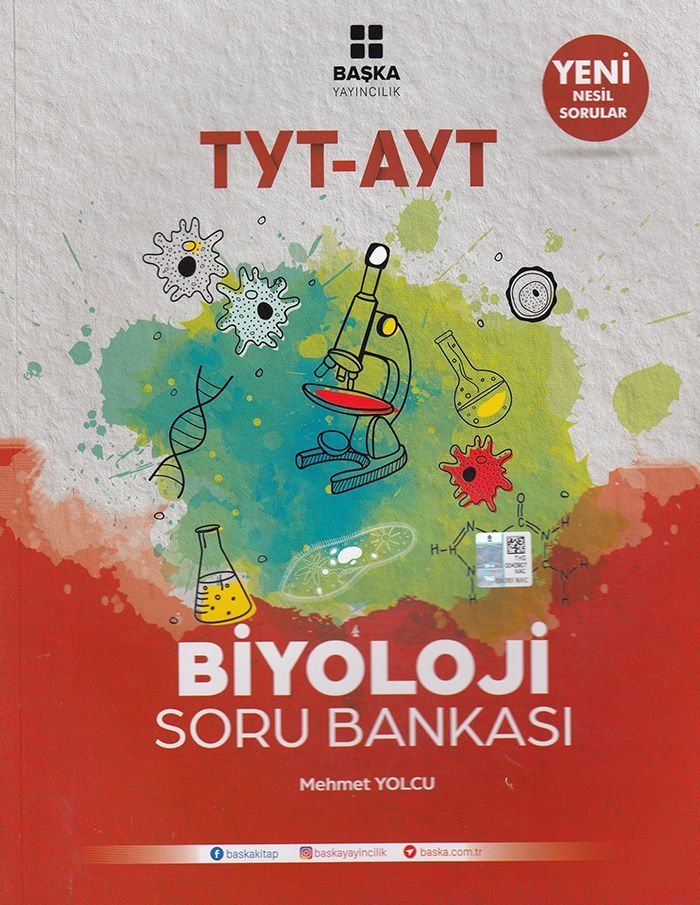 Başka Yayıncılık TYT AYT Biyoloji Soru Bankası