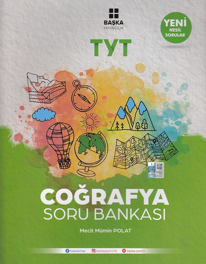 Başka Yayıncılık TYT Coğrafya Soru Bankası