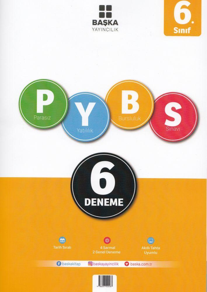 Başka Yayınları 6. Sınıf PYBS 6 Deneme