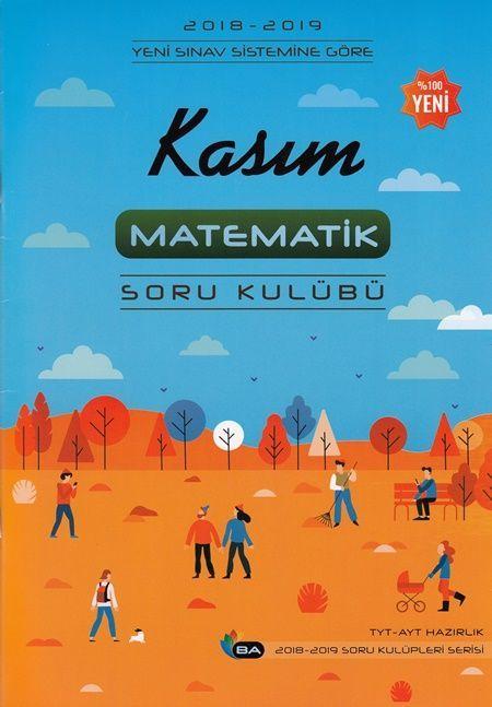 Barış Ayhan Yayınları TYT AYT Kasım Matematik Soru Kulübü