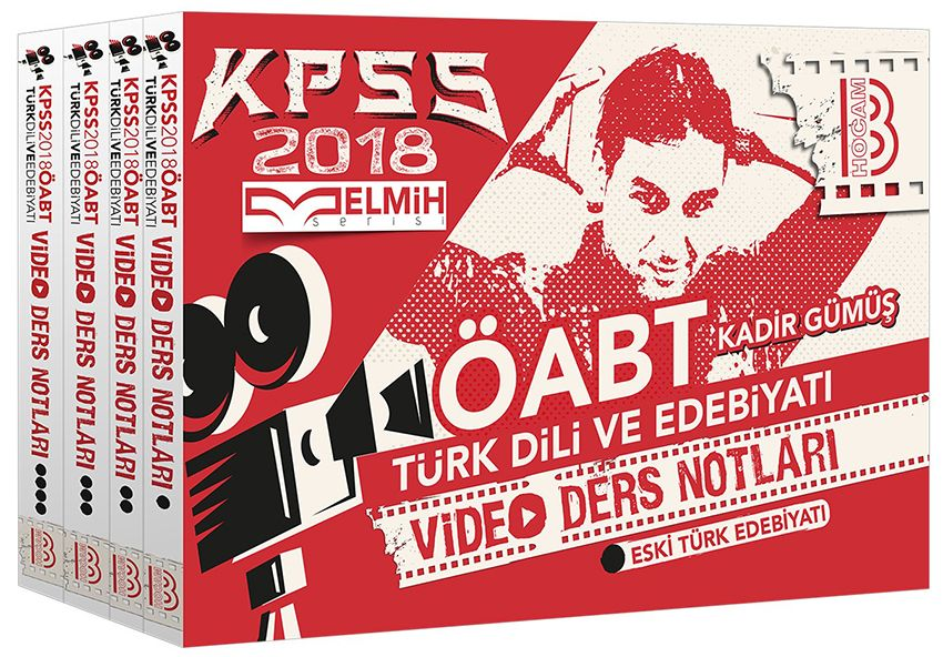 Benim Hocam 2018 KPSS ÖABT Türk Dili ve Edebiyatı Öğretmenliği Modüler Video Ders Notları Seti