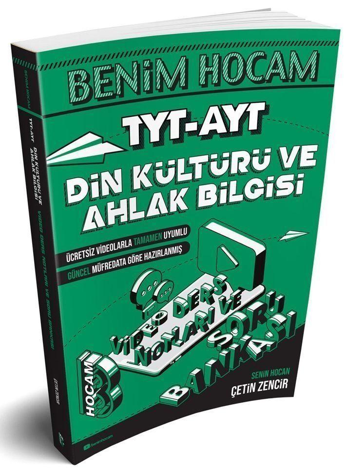 Benim Hocam Yayınları TYT AYT Din Kültürü ve Ahlak Bilgisi Video Ders Notları ve Soru Bankası