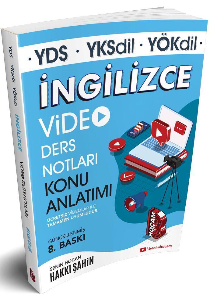 Benim Hocam Yayınları YDS YKSDİL YÖKDİL İngilizce Video Ders Notları