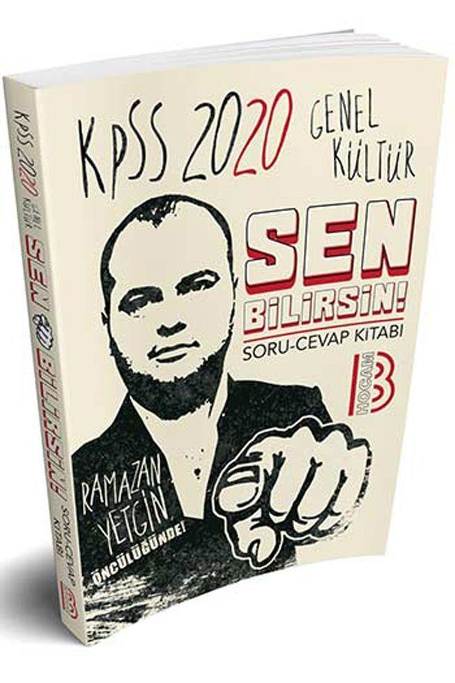 Benim Hocam Yayınları 2020 KPSS Genel Kültür Sen Bilirsin Soru Cevap Kitabı