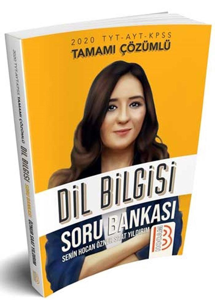 Benim Hocam Yayınları 2020 TYT AYT KPSS Tamamı Çözümlü Dil Bilgisi Soru Bankası