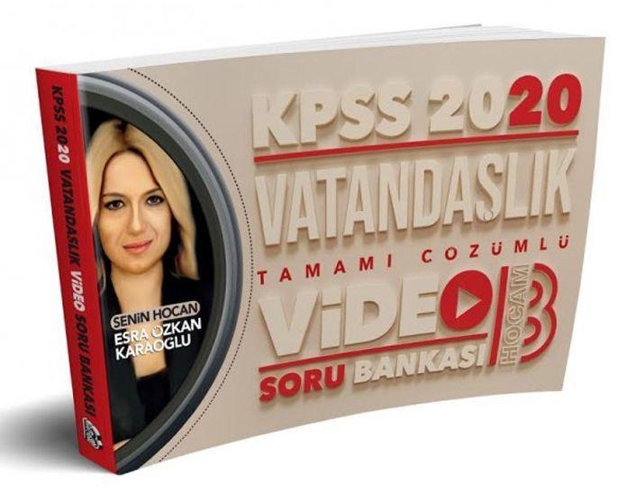Benim Hocam Yayınları 2020 KPSS Vatandaşlık Tamamı Çözümlü Video Soru Bankası