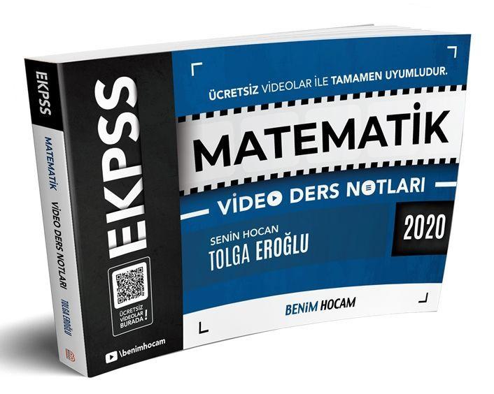 Benim Hocam Yayınları 2020 EKPSS Matematik Video Ders Notları