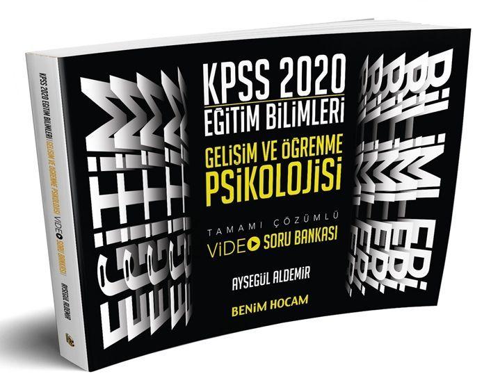 Benim Hocam Yayınları 2020 Eğitim Bilimleri Gelişim ve Öğrenme Psikolojisi Video Soru Bankası