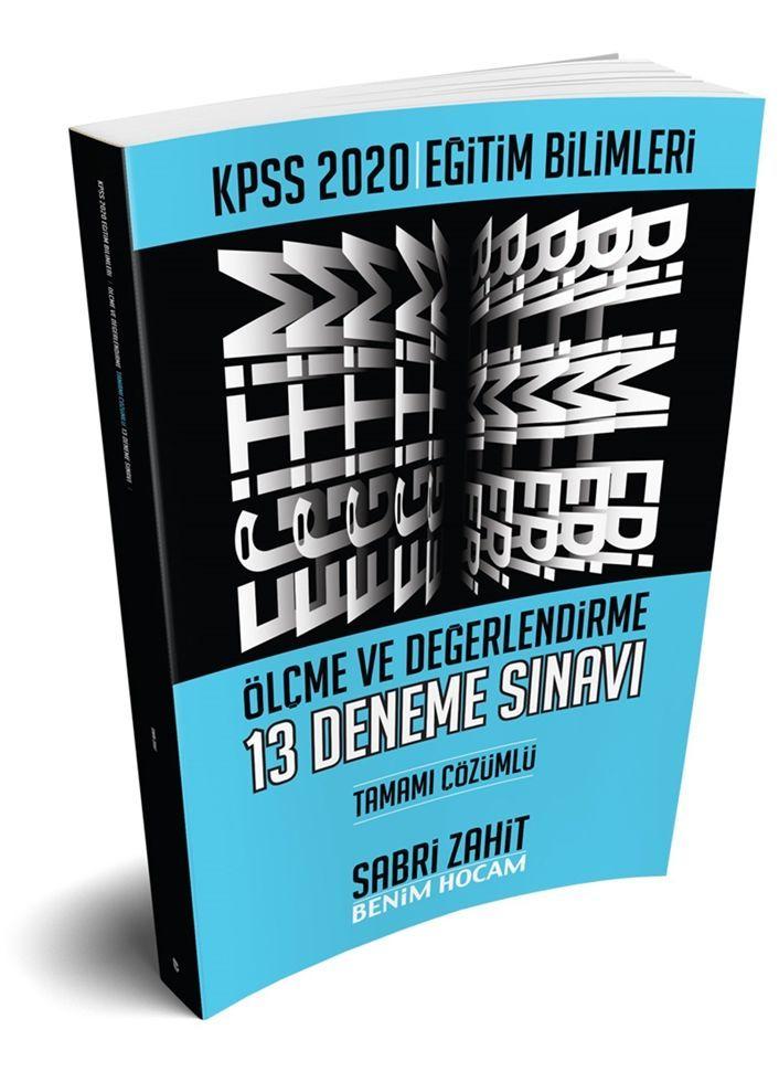 Benim Hocam Yayınları 2020 Eğitim Bilimleri Ölçme ve Değerlendirme Tamamı Çözümlü 13 Deneme