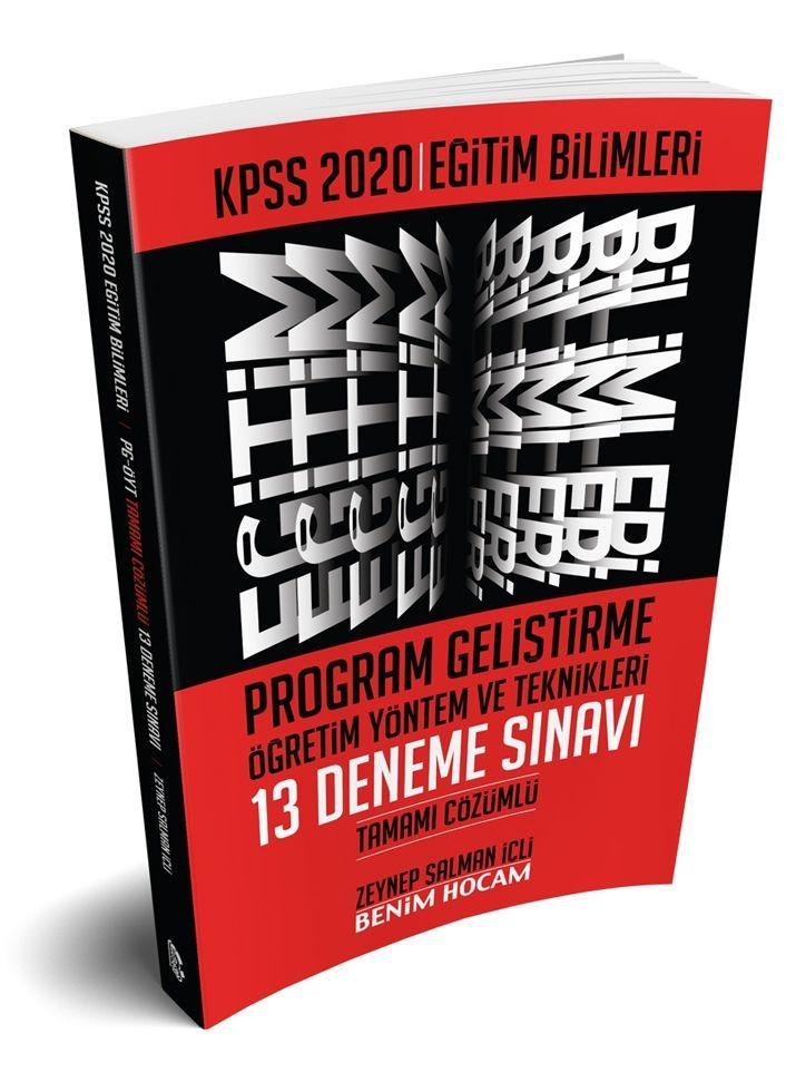 Benim Hocam Yayınları 2020 Eğitim Bilimleri Program Geliştirme Öğretim Yöntem ve Teknikleri Tamamı Çözümlü 13 Deneme