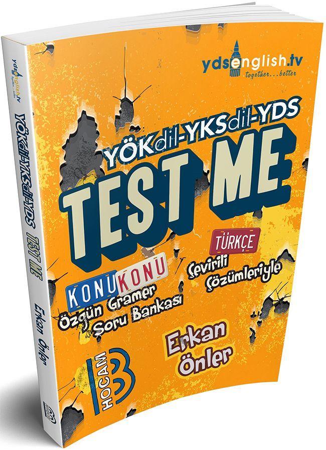 Benim Hocam Yayınları YÖKDİL YKSDİL YDS Test Me Konu Konu Özgün Gramer Soru Bankası