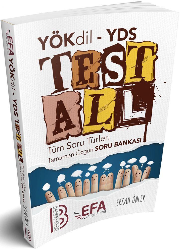 Benim Hocam Yayınları YÖKDİL YDS Test All Tüm Soru Türleri Özgün Soru Bankası