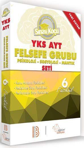 Benim Hocam Yayınları AYT Felsefe Grubu Sınav Koçu Konu Anlatımlı 6 Fasikül Set