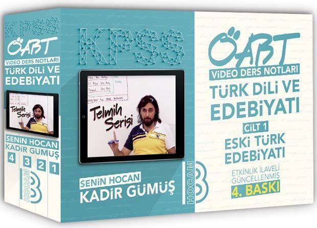 Benim Hocam Yayınları KPSS ÖABT Türk Dili ve Edebiyatı Öğretmenliği Modüler Video Ders Notları Seti