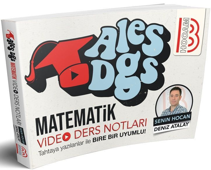 Benim Hocam Yayınları  ALES DGS Matematik Video Ders Notları