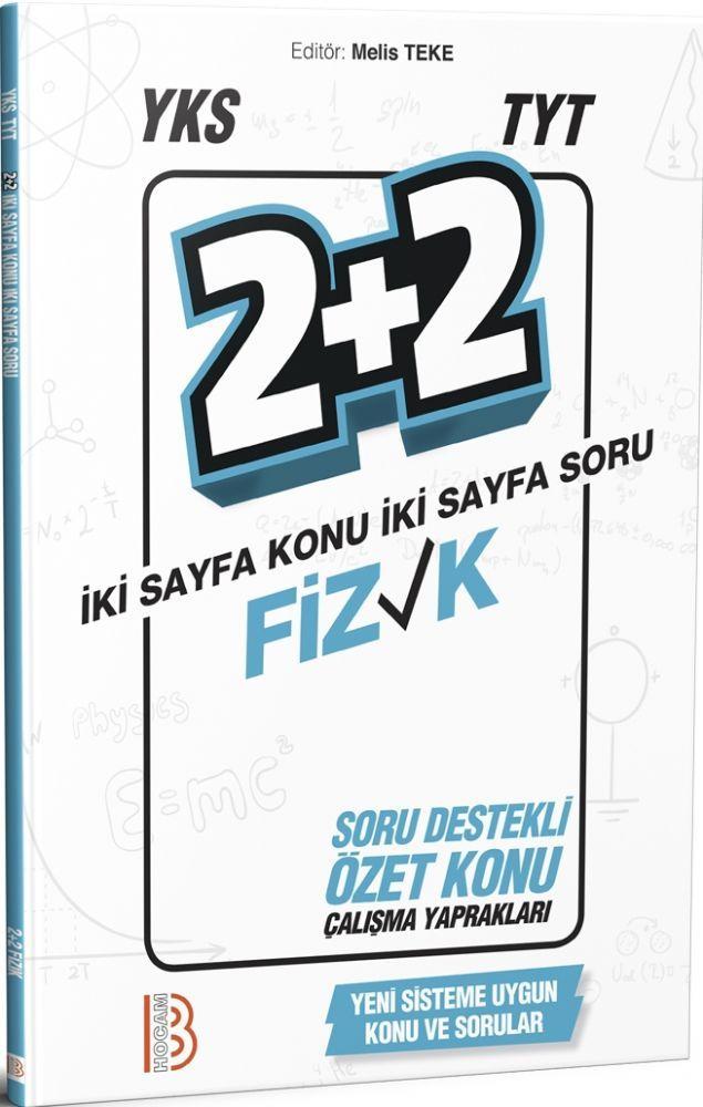 Benim Hocam Yayınları TYT Fizik 2+2 Soru Destekli Özet Konu Çalışma Yaprakları