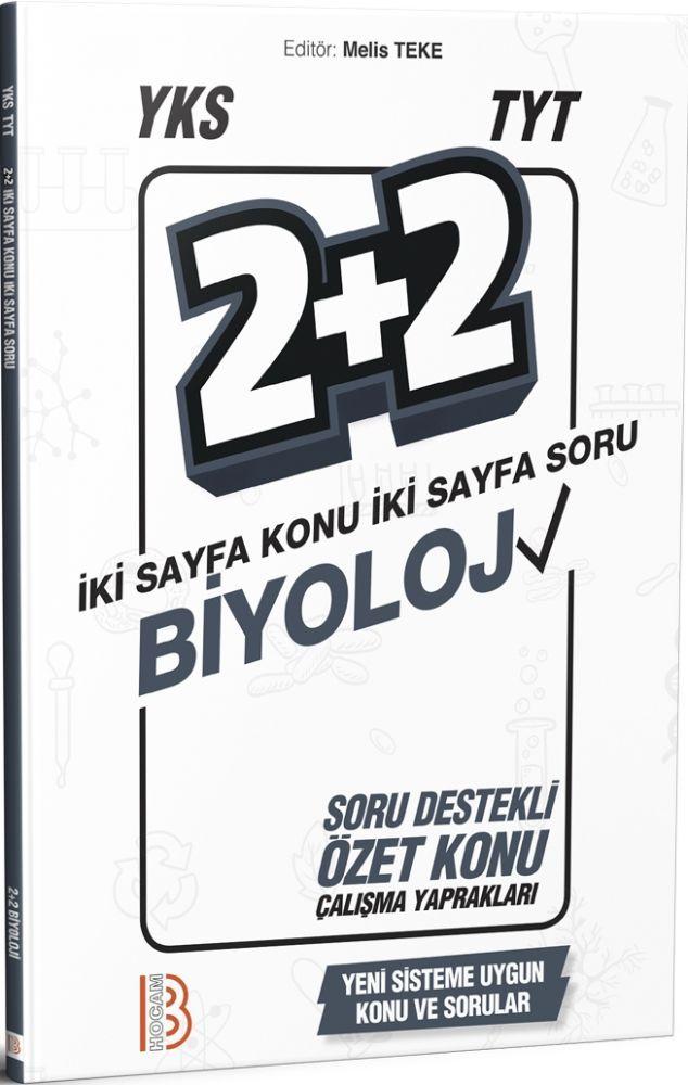 Benim Hocam Yayınları TYT Biyoloji 2+2 Soru Destekli Özet Konu Çalışma Yaprakları