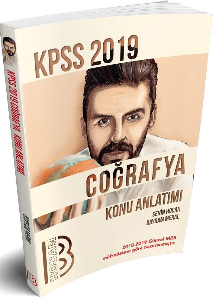 Benim Hocam Yayınları 2019 KPSS Coğrafya Konu Anlatımı