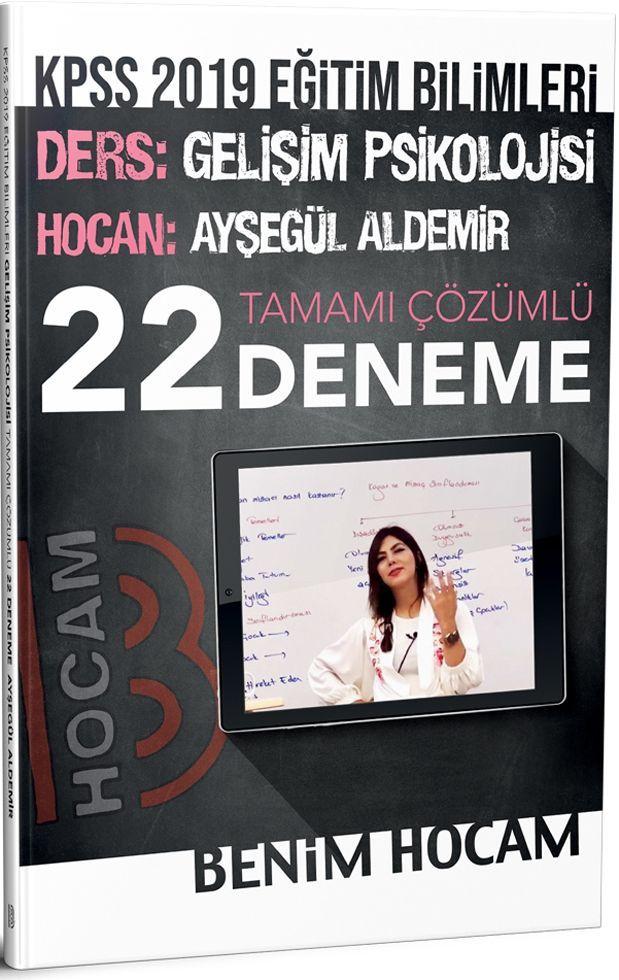 Benim Hocam Yayınları 2019 KPSS Eğitim Bilimleri Gelişim Psikolojisi Tamamı Çözümlü 22 Deneme