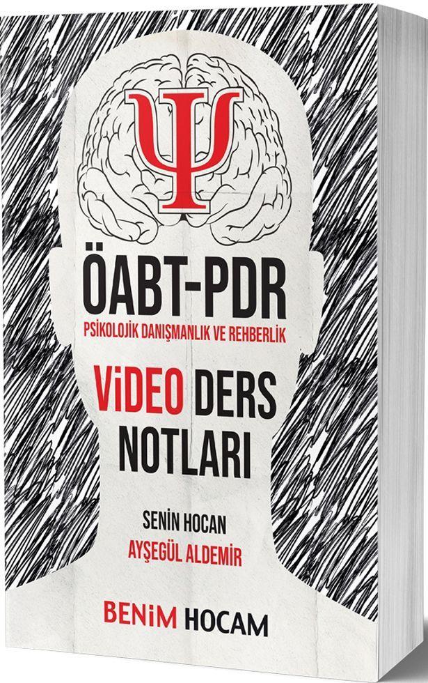 Benim Hocam Yayınları ÖABT Psikolojik Danışmanlık ve Rehberlik Video Ders Notları