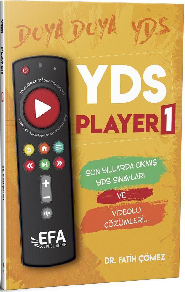 Benim Hocam Yayınları YDS Player 1 Son Yıllarda Çıkmış YDS Sınavları
