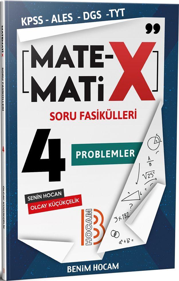 Benim Hocam Yayınları KPSS ALES DGS TYT Matematix Soru Fasikülleri 4