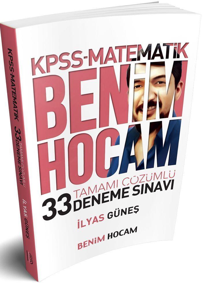 Benim Hocam Yayınları KPSS Matematik Tamamı Çözümlü 33 Deneme