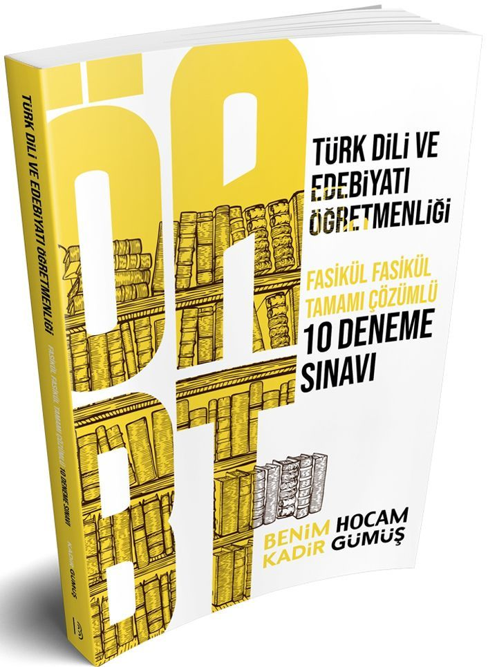Benim Hocam Yayınları ÖABT Türk Dili ve Edebiyatı Öğretmenliği Tamamı Çözümlü 7 Deneme Sınavı