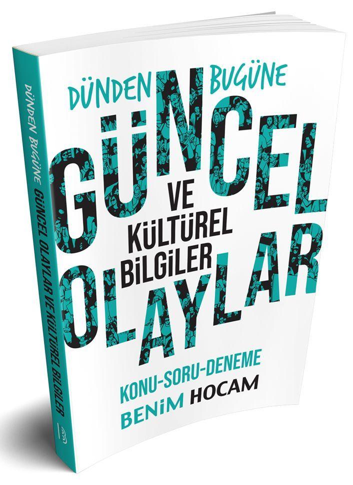 Benim Hocam Yayınları Dünden Bugüne Güncel ve Kültürel Bilgiler Konu Soru Deneme