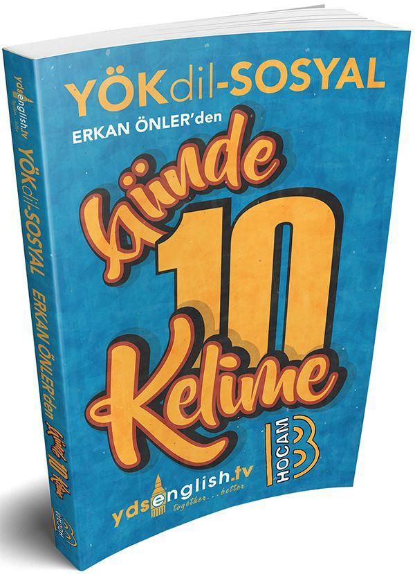 Benim Hocam YÖKDİL Sosyal Günde 10 Kelime Cep Kitabı