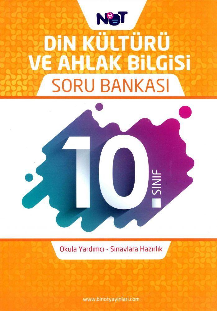 Bi Not Yayınları 10. Sınıf Din Kültürü ve Ahlak Bilgisi Soru Bankası