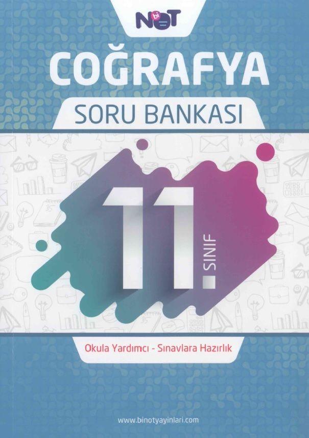 Bi Not Yayınları 11. Sınıf Coğrafya Soru Bankası