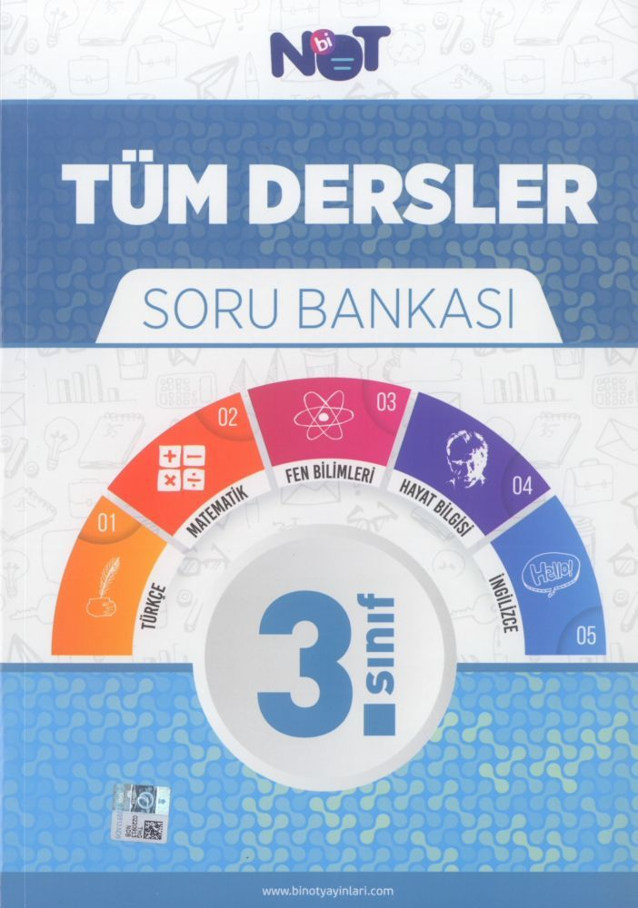 Bi Not Yayınları 3. Sınıf Tüm Dersler Soru Bankası
