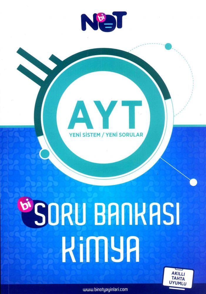 Bi Not Yayınları AYT Kimya Bi Soru Bankası