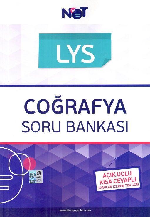 Bi Not Yayınları LYS Coğrafya Bankası