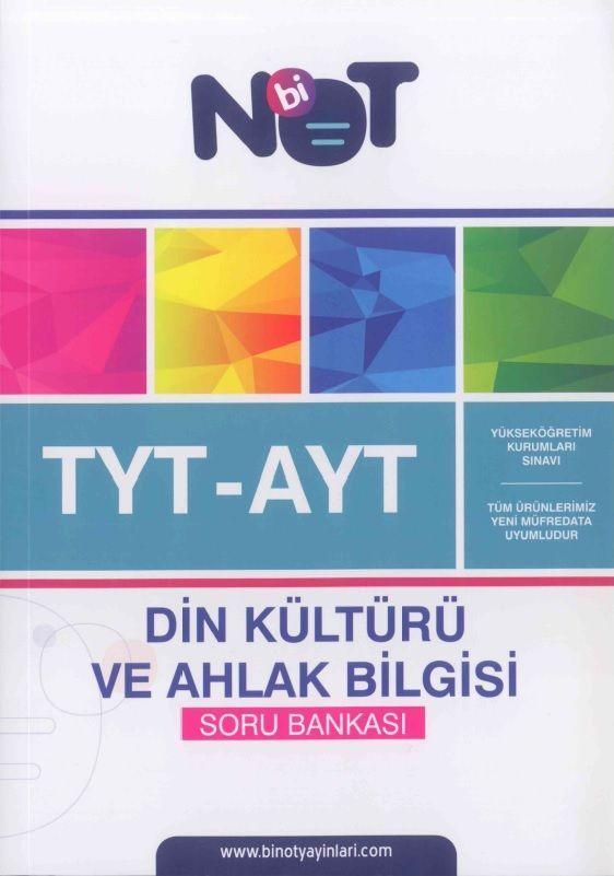 Bi Not Yayınları TYT AYT Din Kültürü ve Ahlak Bilgisi Soru Bankası