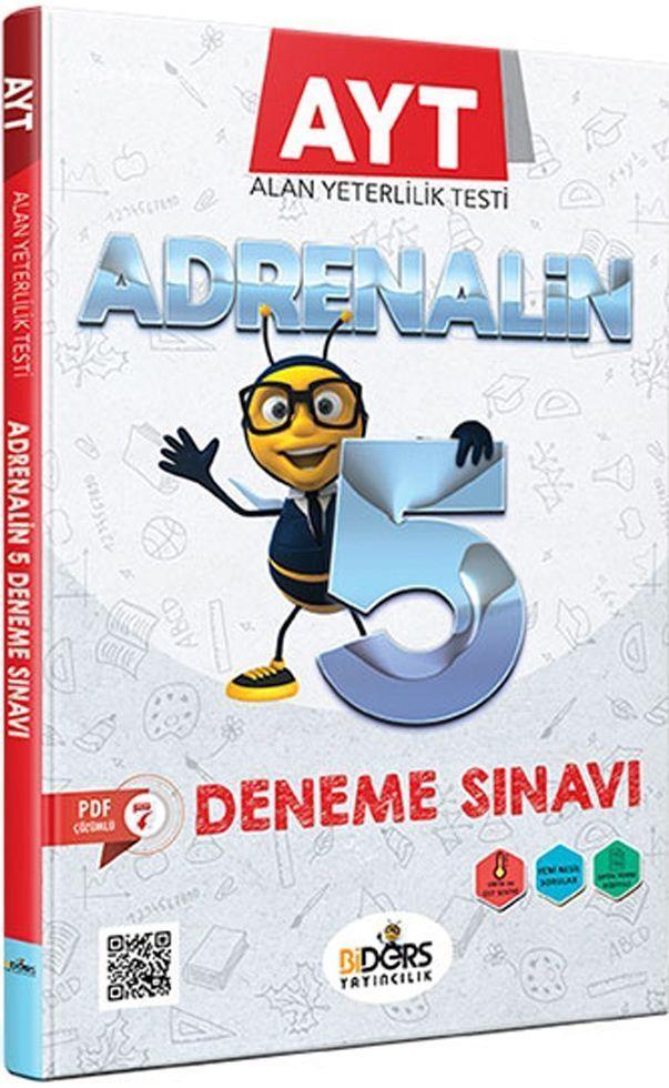 BiDers Yayıncılık AYT Adrenalin 5 Deneme Sınavı