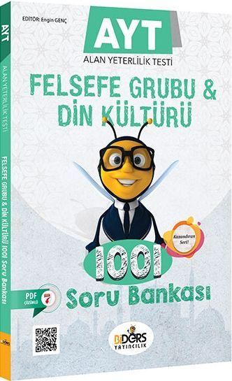 BiDers Yayınları AYT Felsefe Grubu ve Din Kültürü 1001 Soru Bankası
