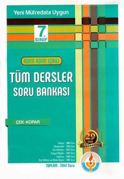 Bilal Işıklı Yayınları 7. Sınıf Tüm Dersler Soru Bankası