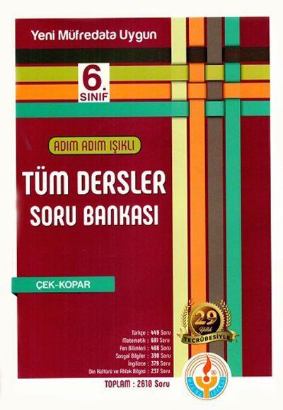 Bilal Işıklı Yayınları 6. Sınıf Tüm Dersler Soru Bankası