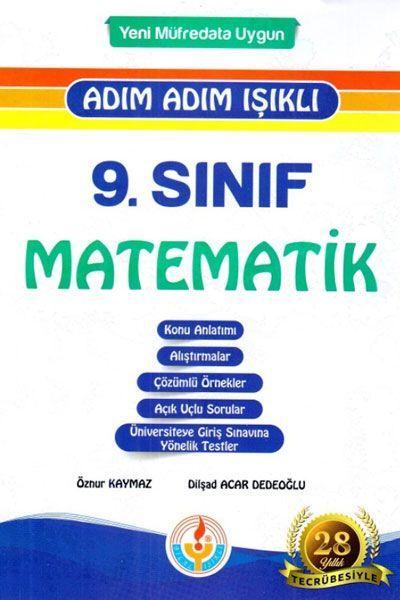 Bilal Işıklı Yayınları 9. Sınıf Adım Adım Işıklı Matematik Fasikül Set
